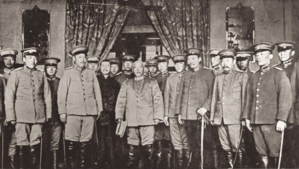 YuanShikaisworninasProvisionalPresident-10March1912
